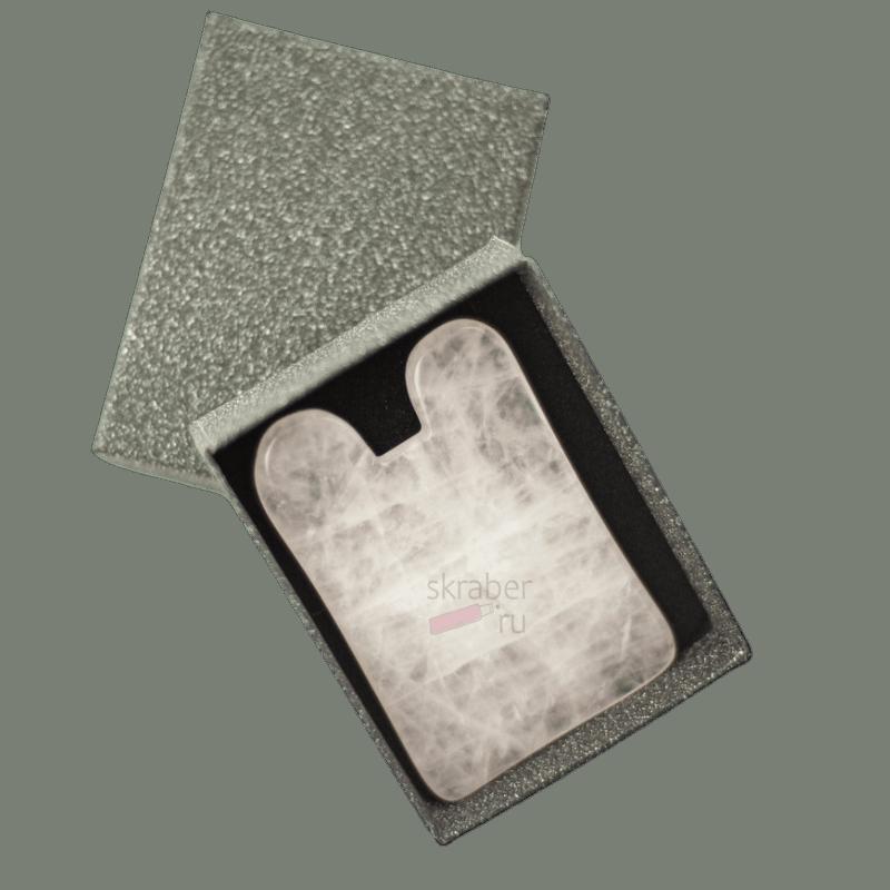 Гуаша Зайка Розовый кварц (1)